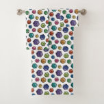 Colorful D20s All-Over-Print Towel Set