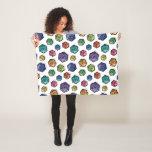 D20 Colorful Pattern Blanket