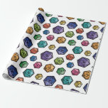 D20 Wrapping Papper Wrapping Paper