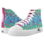 Funky Sea Creatures High Tops