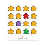 Meeple Moji Stickers