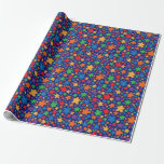 Meeple Wrapping Papper Wrapping Paper
