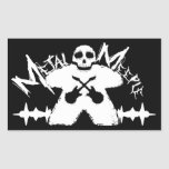 Metal Meeple - Sticker