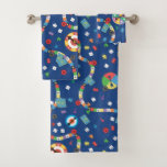 Playful Board Game Patter All-Over-Print Towel Set