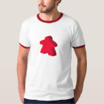 Two Pips - Red Meeple T-Shirt