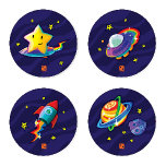 Two Pips Star Surfer and Friends Coaster Set